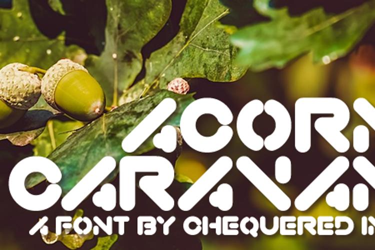 Acorn Caravan Font