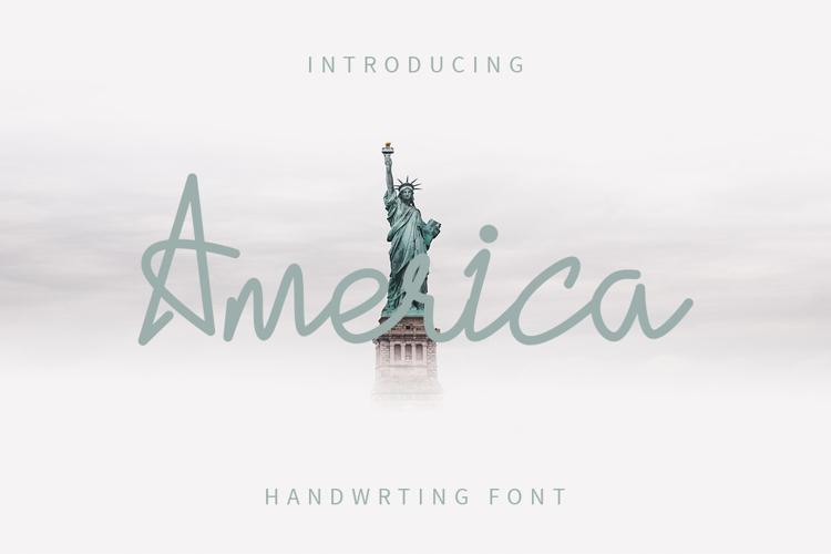 America Font