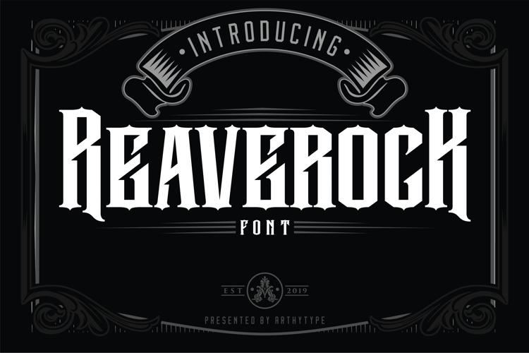 Reaverock (Free) Font