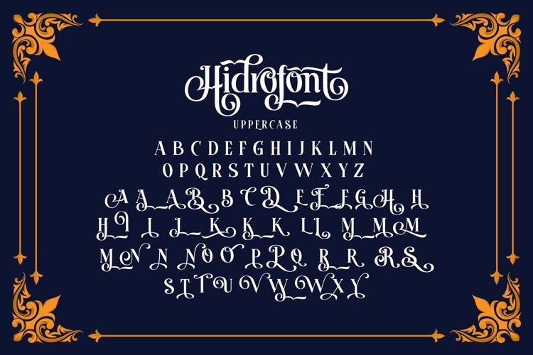 HIDROFONT Font