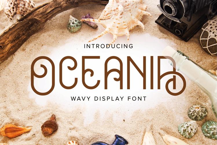 Oceania (Demo) Font