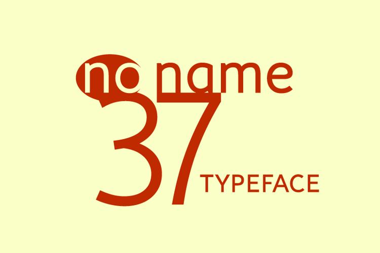 no_name_37 Font