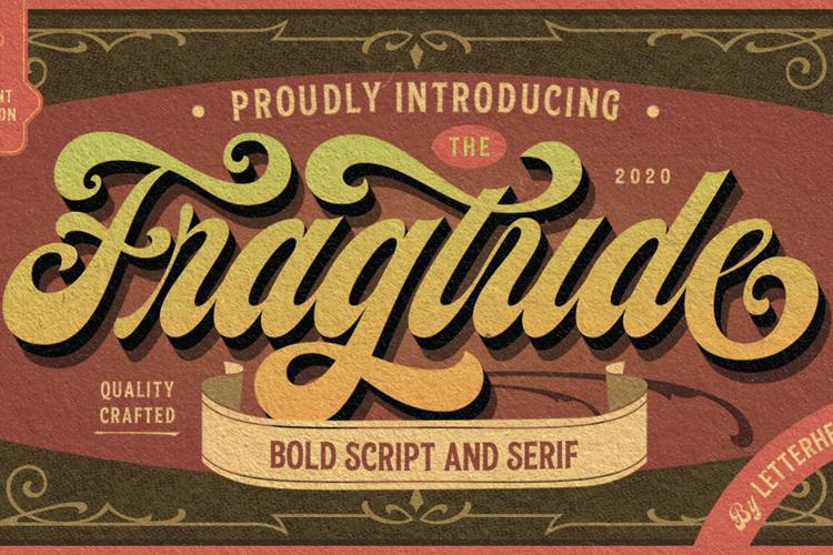 Fragtude Script Font