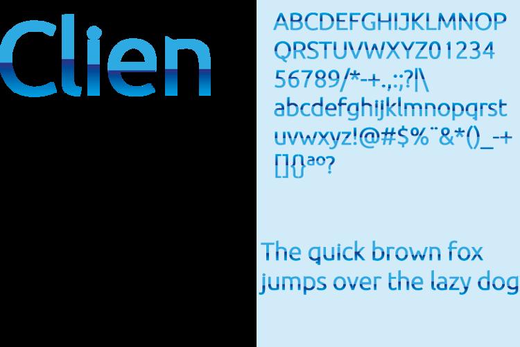 BDP Clien Font