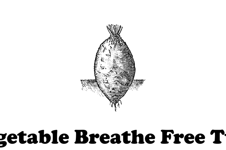 Vegetable Breathe Free Two Font