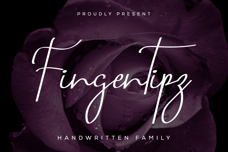 Fingertipz Font