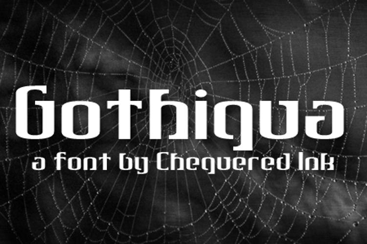 Gothiqua Font