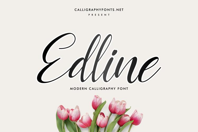 Edline Font