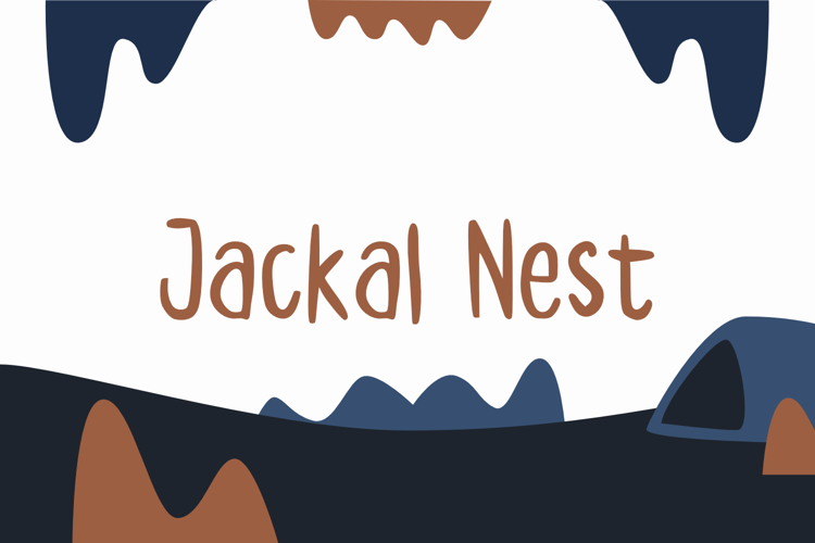 Jackal Nest GT Font