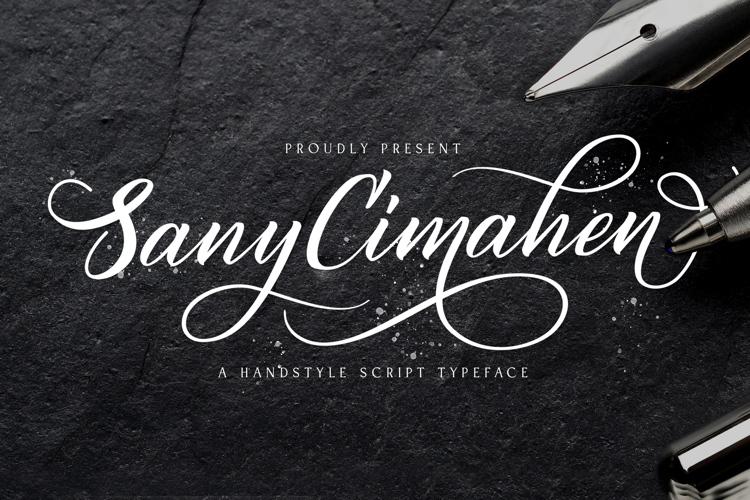 Sany Cimahen Font