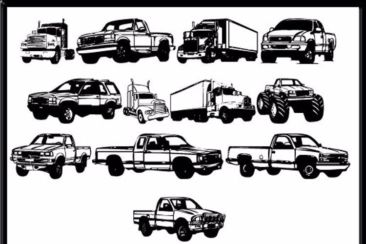 Trucks for Judy *S* Font