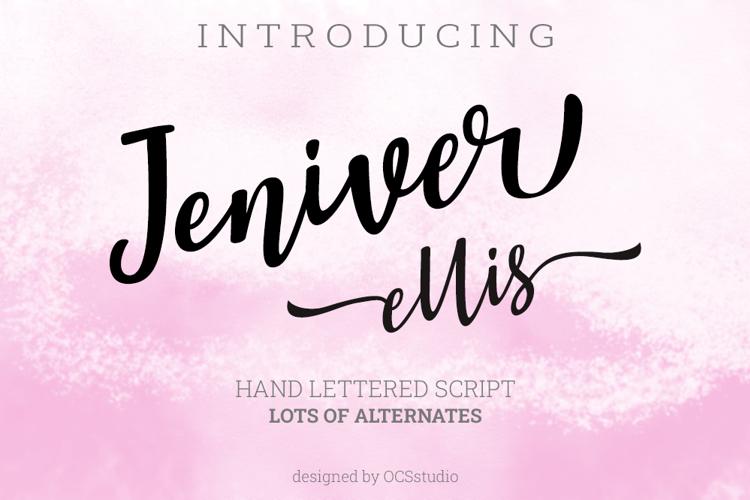 Jennifer Ellis Font