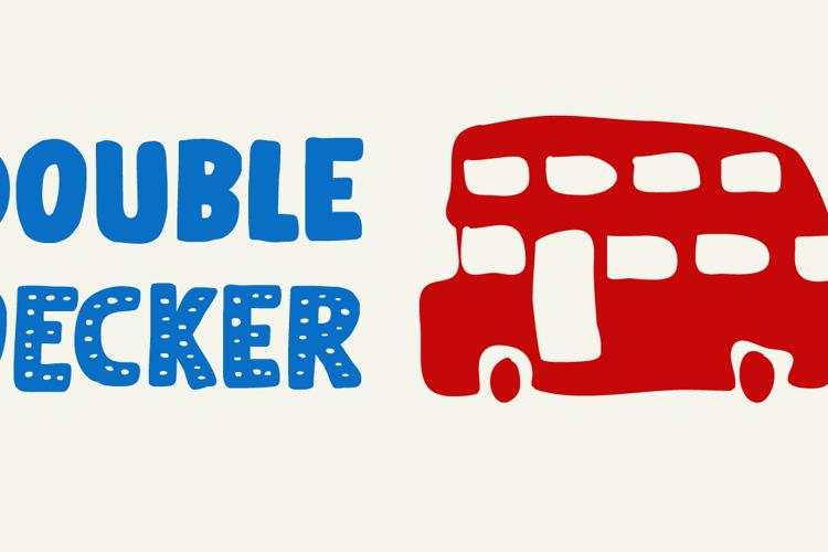 Doubledecker (Demo) Font
