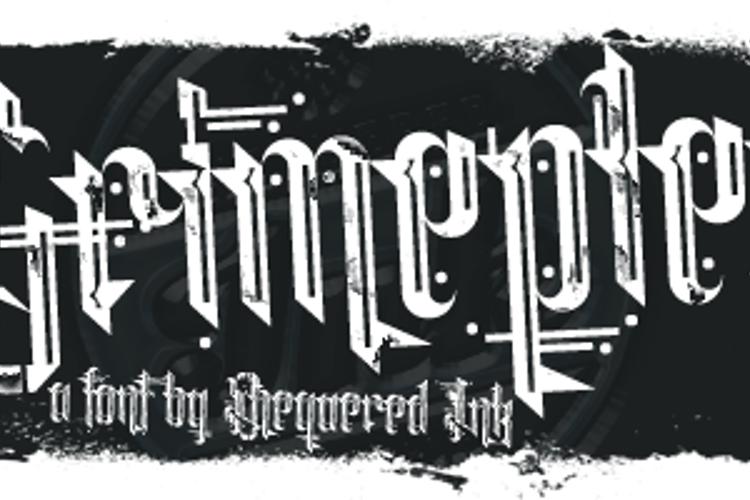 Grimeplex Font