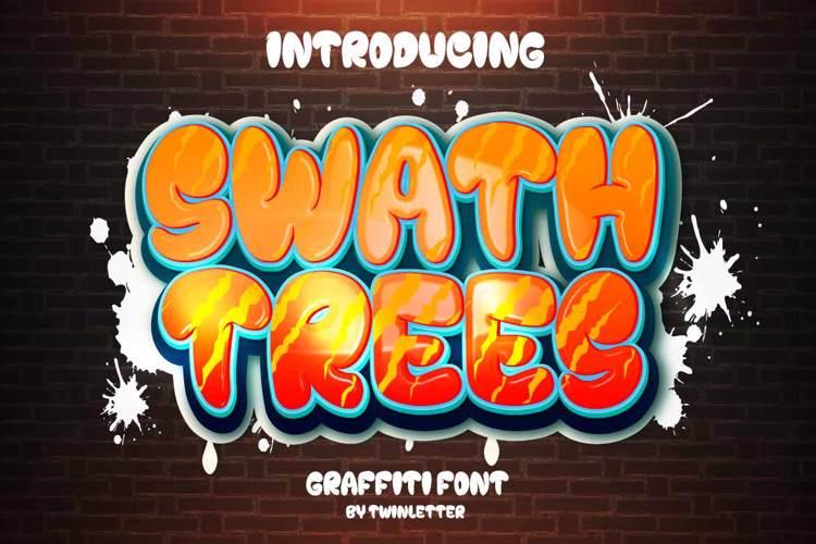 Swath Trees Font