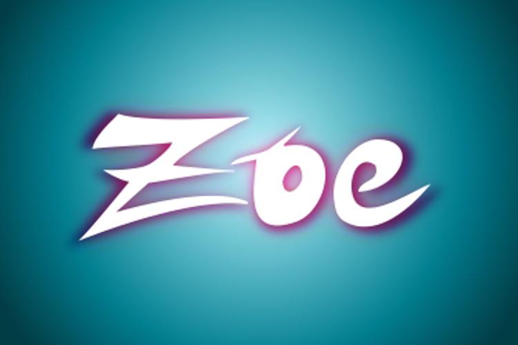 ZOE Graphic Font