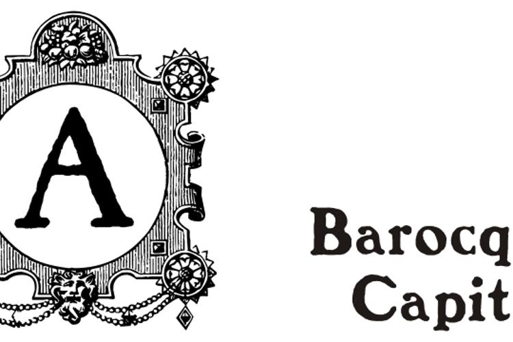 Barocque Capitals Font