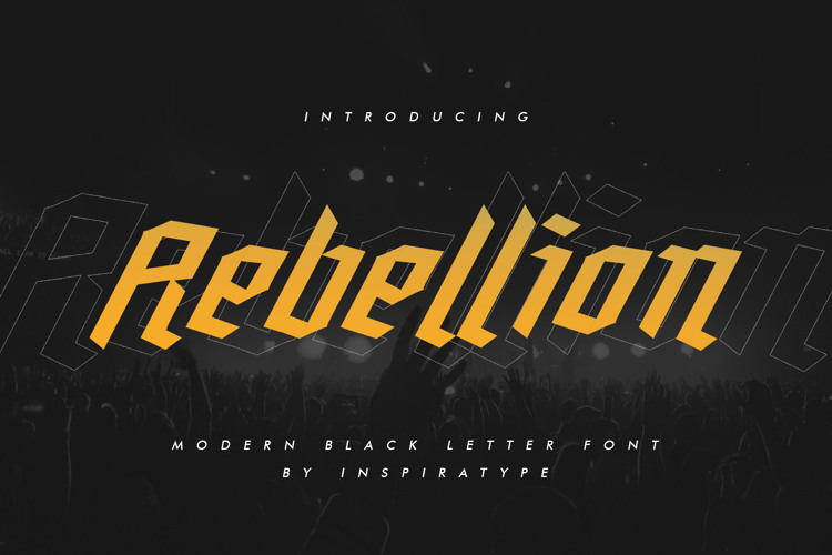 Rebellion Font