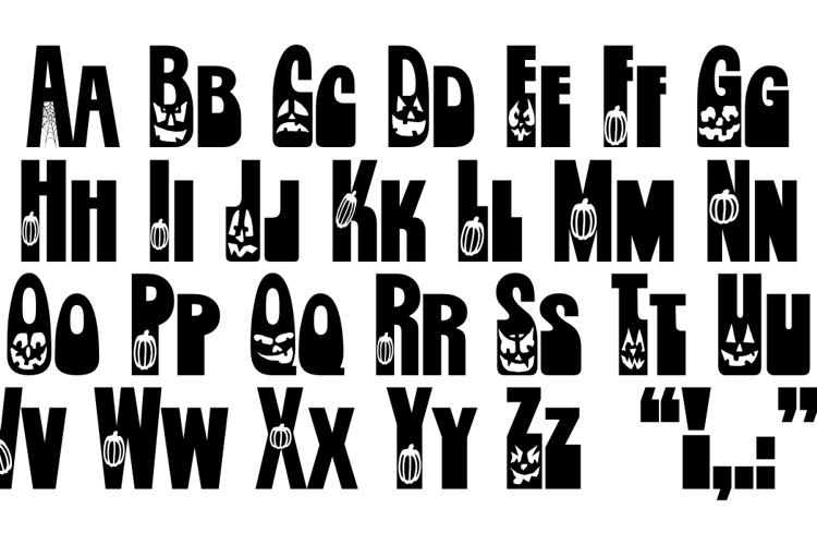 Jackie O'Lantern Font
