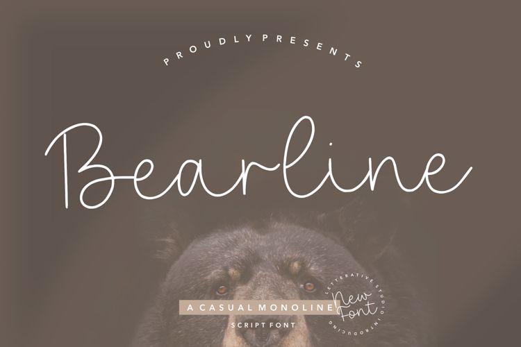 Bearline Font