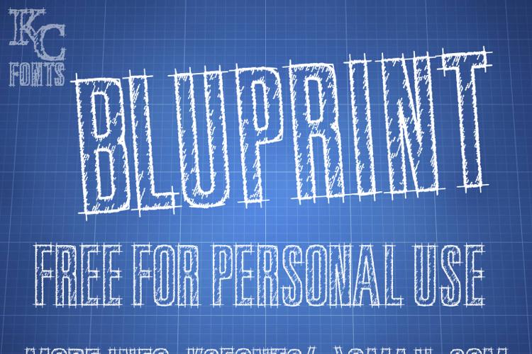 Bluprint Font
