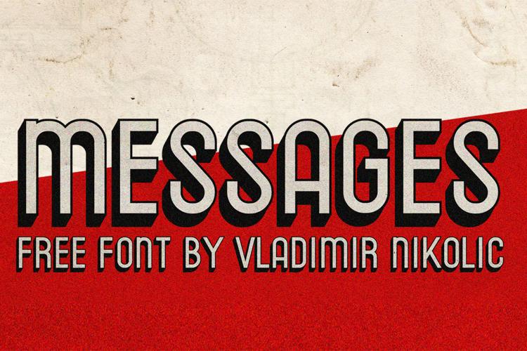 Messages Font