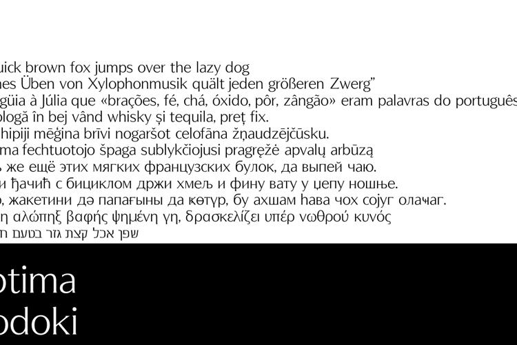 OptimaModoki Font