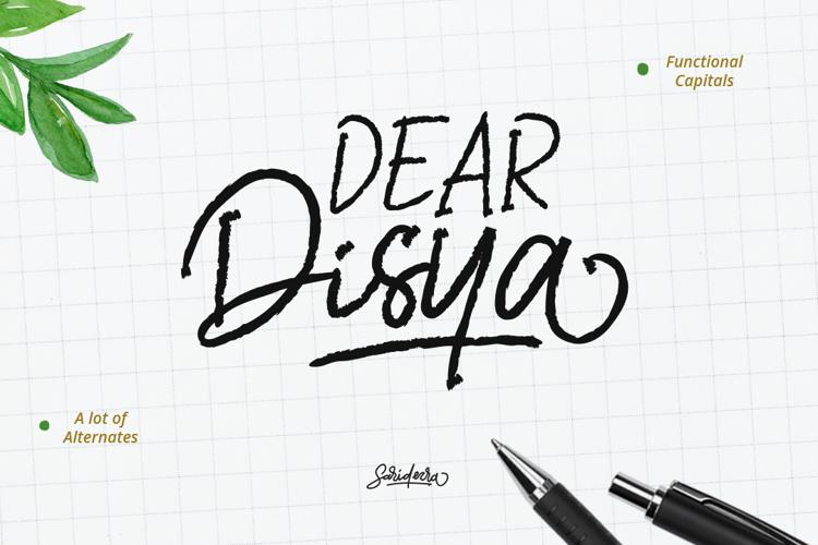 Dear Disya Font