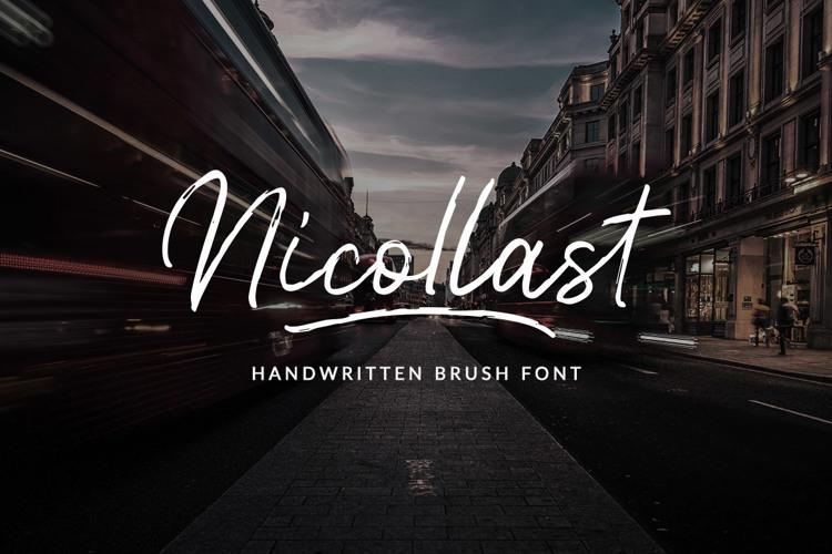 Nicollast Font