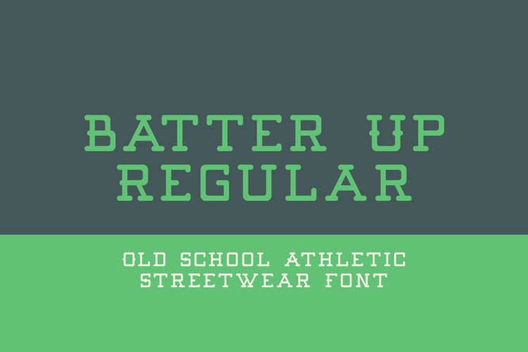 Batter Up Font