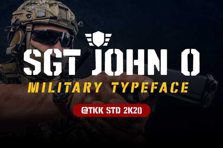 SGT Jhon O Font