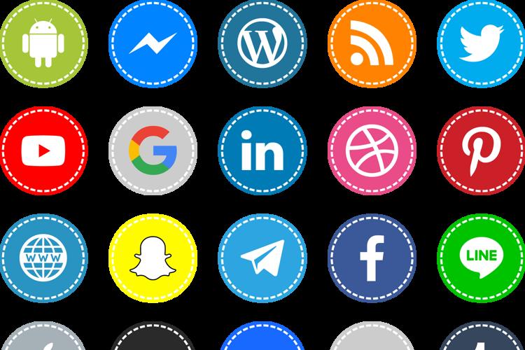 Icons Social Media 16 Font