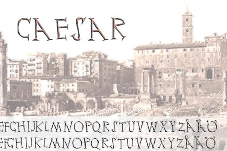 Ceasar Font