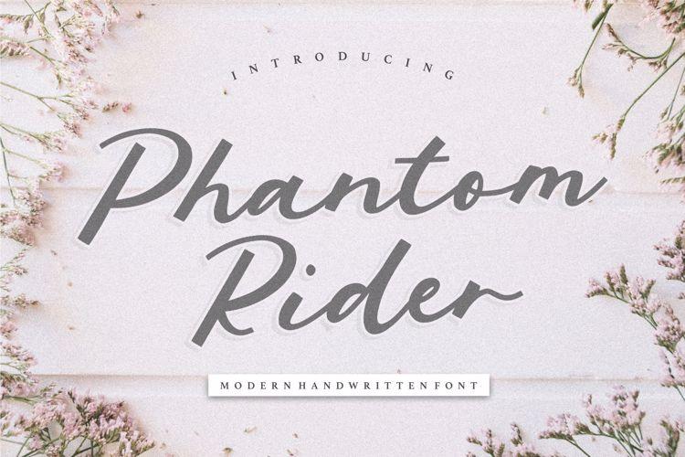 Phantom Rider Font