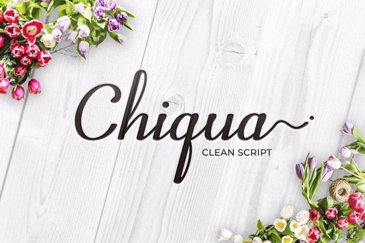 Chiqua Font