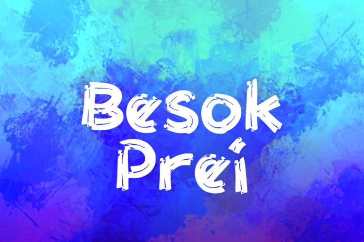 b Besok Prei Font