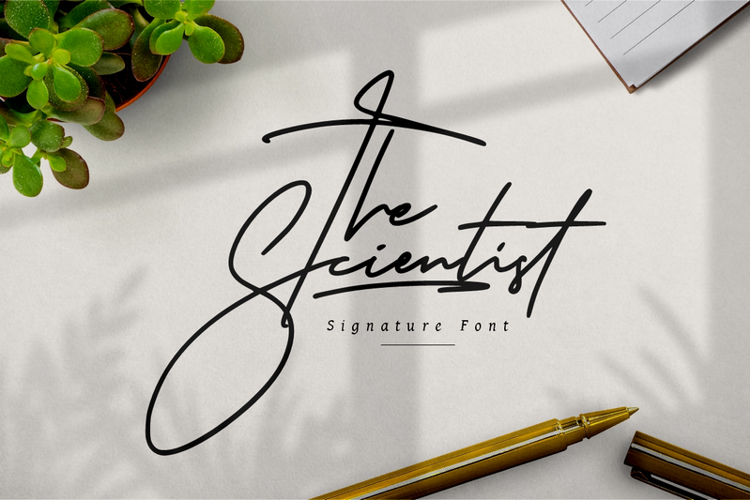 The Scientist Font