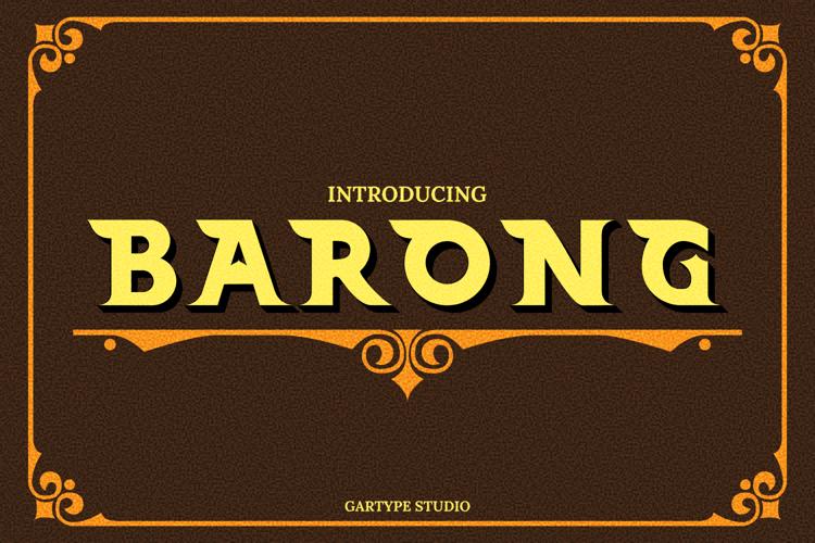 Barong Font