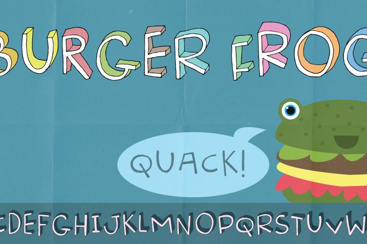 Burger Frog DEMO Font