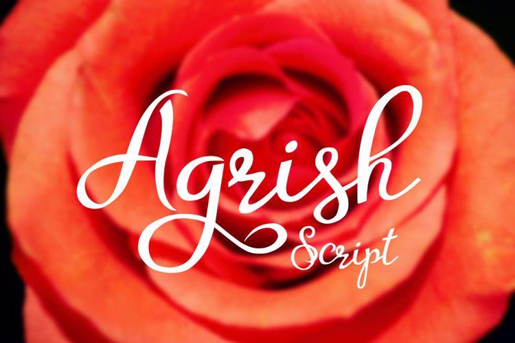 Agrish Font