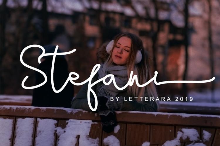 Stefani Font