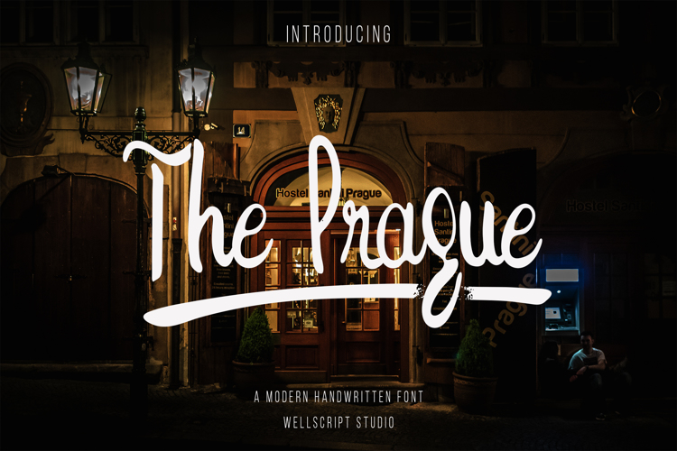 The Prague Font