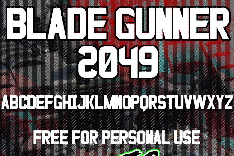 Blade Gunner 2049 St Font