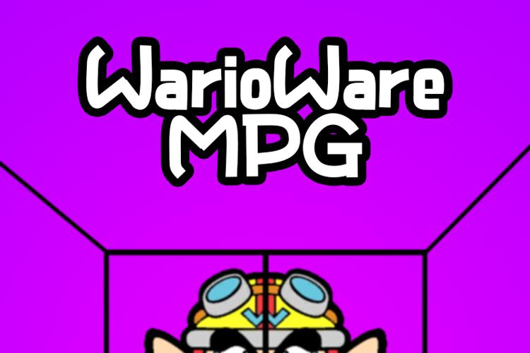 WarioWare MPG Font