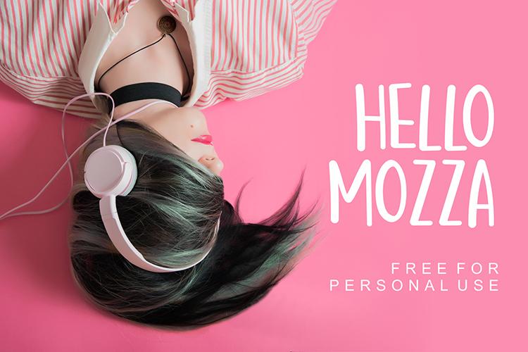Hello Mozza Font