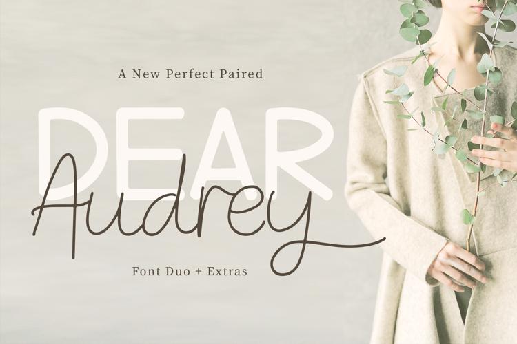 Dear Audrey Font