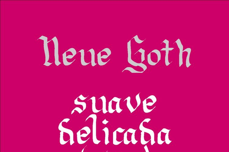 Neue Goth Font