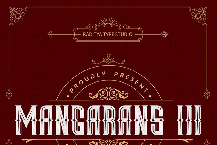 Mangarans III Font