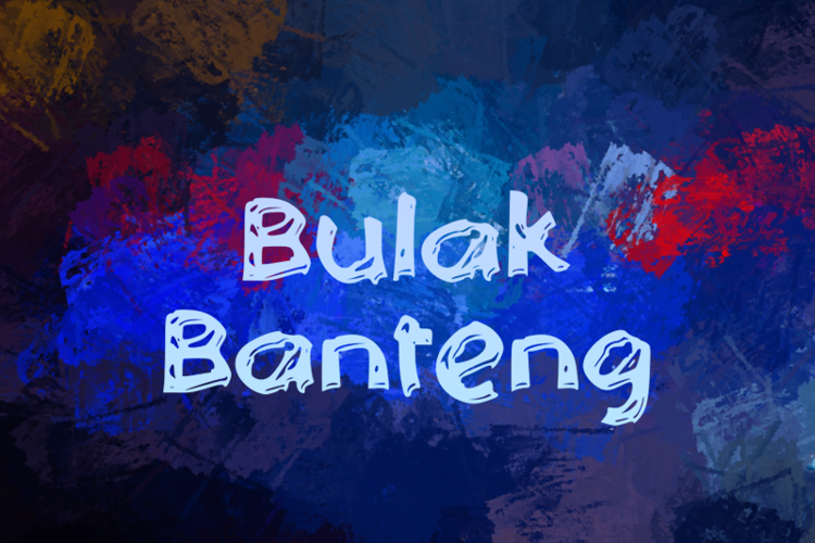 b Bulak Banteng Font