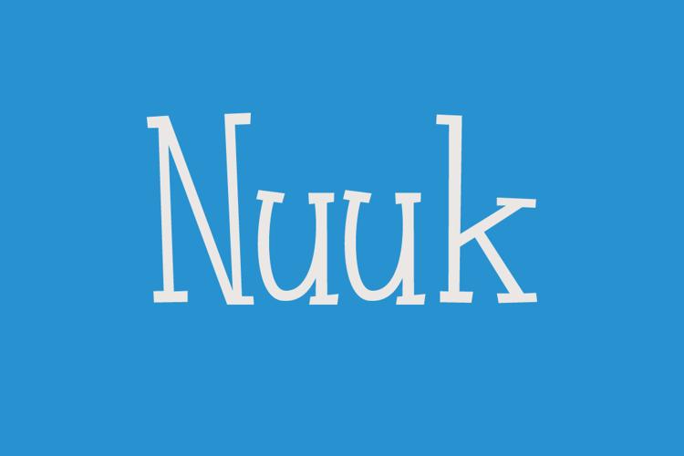 Nuuk DEMO Font